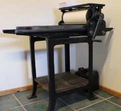 Historische drukkerij